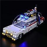 ADMLZQQ LED-Beleuchtungs-Kit Für Lego 10274, USB-Kabel - LED-LED-Leuchten Für Ghostbusters ECTO-1 (Nicht Enthalten Das Modell)