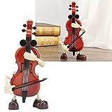 Liujaos Cello Spieluhr, einfache Bedienung Elegante Cello Modell Spieluhr für Weihnachten für Freundin für zum Geburtstag