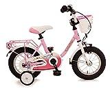 My Dream My Dream 12,5' Kinderrad R�cktrittbremsnabe VR-Kinderkorb mit Bl�mchen 12 Zoll Kinderfahrrad rosa