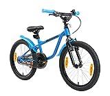 LÖWENRAD Kinderfahrrad für Jungen und Mädchen ab 6 Jahre | 20 Zoll Kinderrad mit Bremse | Fahrrad für Kinder | Blau