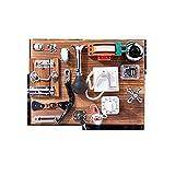 windyday Montessori Lernspielzeug Kleinkind Board Busy Motorikwürfel Holzspielzeug Montessori Lernspielzeug Sensory Board Latch Board