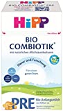HiPP Bio Milchnahrung PRE Combiotik, 4er Pack (4 x 600 g)