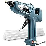 Heißklebepistole 100W Klebepistole mit 11 mm*258 mm Stück Klebesticks, Fachmann Glue Gun für Schule DIY Kunst, Handwerk und schnelle Reparaturen in Haus