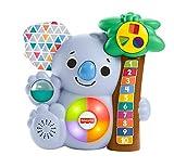 Fisher-Price GRG67 - BlinkiLinkis Koala, musikalisches Lernspielzeug für Babys und Kleinkinder, ab 9 Monaten