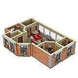 YYGE Modular Haus HIMYM-Wohnung Bausteine Satz, 886+Teile Bausteine Modell Bausatz Kompatibel mit Lego Friends