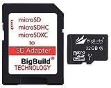 eMemoryCards 32GB Ultra-schnell-Klasse 10 30MB/Sek. Micro SD SDHC Speicherkarte für VTech Kidizoom Kamera