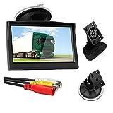 Beada 5 Zoll 800X480 TFT LCD HD-Bildschirmmonitor mit Doppelter Halterung für Auto-RüCkfahrkamera/RüCkansicht/DVD/Media Player
