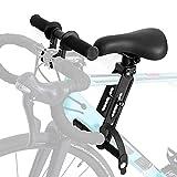 Kinderfahrradsitz Mountainbike Kindersitz Fahrrad, Vorne Montierte Fahrradsitze mit Lenker für Kinder von 2-5 Jahren, Kompatibel mit Allen Erwachsenen MTBs