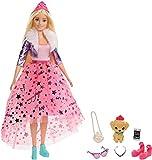 Barbie GML76 - Barbie Prinzessinnen-Abenteuer Puppe (ca. 30 cm) mit Mode und Hündchen, für Kinder von 3 bis 7 Jahren