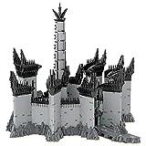 LEIKE Minas Morgul Baukasten 14045 Stück MOC-84124 Hausarchitektur-Bausteinmodell für Der Herr der Ringe Kompatibel mit Lego Harry Potter