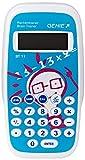 Genie BT11 Rechentrainer (Lernspiel, Mathe lernen durch ca. 300.000 Aufgaben, Inkl. Taschenrechner-Funktion, Schutzdeckel)