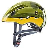 uvex Unisex Jugend Kid 2 Fahrradhelm, Dino, 46-52 cm