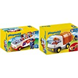 Playmobil 6773 - Reisebus & 6774 - Müllauto