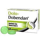 DOLO-DOBENDAN Lutschtabletten bei starken Halsschmerzen mit betäubender Wirkung, 48 St. Tabletten