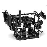 LAXI 547Teile Custom Spielzeuge Bodenkämpfer Transformers Bausatz Kompatibel mit Lego Figuren