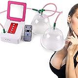 Elektrische Milchpumpe Stillpumpe, Vergrößerung Weibliche Brustschale, Brustpflegemaschine Vergrößerer Bruststimulator Zum Heben Und Anti-Durchhängen Massagen