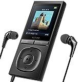 Victure MP3 Player 100 Stunden Standby-Zeit Portable Verlustfreien Klang Musik Player 8GB-Speicher Erweiterbar auf bis zu 128 GB mit Kopfhörer 1.8TFT-FM Radio Voice Recorder