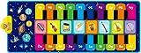 RenFox Klaviermatte Musikmatte Kindertanzmatte Kinder Piano Mat Keyboard Musik Matte Spielzeug Geschenke für Baby Jungen Mädchen