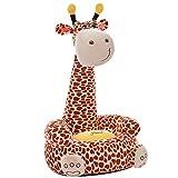 Kinder Sitzsack Sitzkissen Baby Hocker Stuhl Kinderspielzeug (Giraffe)