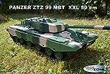 Rc Panzer ZTZ 99 MBT Heng Long 1:16 Schuss, Sound und Rauch