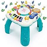 Spielzeug Ab 1 Jahr - Spieltisch Baby Spielzeug 6 in 1 Kinderspielzeug ab 1 2 3 4 5 6 Jahre Geschenke Kinder Spielzeug Mädchen Jungen Activity Center Baby Musikspielzeug mit Lichtern Lernspielzeug