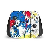 Head Case Designs Offiziell Zugelassen Emoji® Spieler Kunst Muster Vinyl Haut Aufkleber Abziehbild Abdeckung kompatibel mit Nintendo Switch Joy Controller