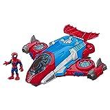Playskool Heroes Marvel Super Hero Adventures Spider-Man Jet-Quartier