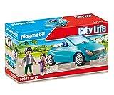 PLAYMOBIL City Life 70285 Papa und Kind mit Cabrio, Ab 4 Jahren