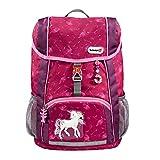 """Step by Step Rucksack-Set Kid Schleich® """"Bayala The Movie, Rainbow Unicorn"""", rosa, mit Sitzkissen, ergonomischer Mini-Ranzen, abnehmbare, Brustgurt, für Kindergarten, Vorschule und Freizeit, 13 l"""