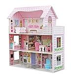 Star-Puppenhaus mit Familie und Möbeln, Mehrfarbig, Einheitsgröße (Duplex)