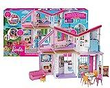 Barbie FXG57 - Malibu Haus Puppenhaus 60 cm breit mit +25 Zubeh?rteile, Puppen Spielzeug ab 3 Jahren, ?nica, Mehrfarbig