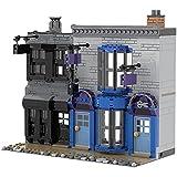 Bausteine Haus Bausatz, 931 Klemmbausteine Modular Robe Shop in der Winkelgasse und The Crucible Shop Kompatibel mit Lego Haus