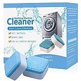 Waschmaschinenreiniger,Solide Reiniger Tablette,Waschmaschine Reiniger Schaum,Brausetabletten Waschmaschinenreiniger, Dreifacher Dekontaminationsentferner mit natürlicher biologischer Formel, 20 PCS