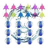 Tierhaarentferner waschmaschine, Waschbälle,Waschkugel Flusenentferner,Wiederverwendbare Haustier Haarentferner,12pcs Waschkugeln 12 pcs Fusselbälle