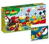 Collectix Lego Set - DUPLO Mickys und Minnies Geburtstagszug 10941 + DUPLO Meine erste Weltraumrakete 30322