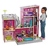 KidKraft 65833 Uptown Puppenhaus aus Holz, Rosa