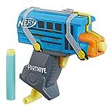 NERF Fortnite Mikro Battle Bus MicroShots Dart Blaster und 2 Elite Darts für Kinder, Teenager, Erwachsene