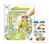 tiptoi avensburger Schule Buch | Vorschulwissen - Mein Lern-Spiel-Abenteuer + Kinder-Sticker, für Kinder ab 4 Jahren