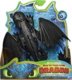 Dreamworks Dragons Spinmaster – 6045118 Drachenzähmen leicht gemacht 3: Die geheime Welt – Ohnezahn – Drachen Figur