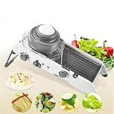 ENHONGDZ Haushaltsunfältiger Stahl geschnitten Gemüseschneider Slicker Kitchen Gummi (Color : 1, Size : A)