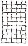 Aoneky Kinder Kletternetz - Krabbelnetzwand Schutznetz für Freiensport-Entwicklungstraining, Garten,Outdoor Indoordekoration 0,6 x 1,8/1 x 1,5/1 x 2 M (0,6x2M)