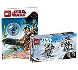 Collectix Lego Set - Star Wars at-at™ vs. Tauntaun™ Microfighters 75298 + Lego Star Wars Rätselspaß für Raumschiff-Helden (Softcover)