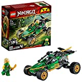 Lego 71700 NINJAGO Legacy Lloyds Dschungelräuber Auto mit Minifigur Lloyd, Turnier der Elemente Bauset
