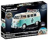 PLAYMOBIL 70826 Volkswagen T1 Camping Bus als hellblauer Surfer-Van, Special Edition für Fans und Sammler, 5 - 99 Jahre