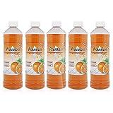 5 x 1 Liter Premium Orangenreiniger Konzentrat Spezialreiniger Orangenduft