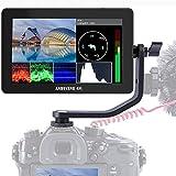 ANDYCINE A6 Plus V2 Touchscreen Kamera Monitor, 5,5-Zoll-3D-LUT mit Typ C-Anschluss, 1920 x 1080 IPS-Unterstützung 4K-HDMI-EIN- / Ausgang mit Kipparm- und Ausgangsausgangswellenform, Vektorskop