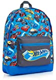 Hot Wheels Rucksack Kinder, Kindergartenrucksack Jungen mit Auto Motiv, Rucksack Schule Reisen, Schulrucksack Jungen ab 3 Jahre, Kleine Geschenke für Kinder