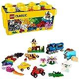 LEGO 10696 Classic Mittelgroße Bausteine-Box, Lernspielzeug, einfache Aufbewahrung, Geschenk für LEGO Fans