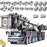 XXH Technik Liebherr LTM 11200 Kran, 7986 Teile 2.4G RC/APP Ferngesteuerter Kran LTM Mobiler Kran LKW Modell mit Motoren, Klemmbausteine Kompatibel mit Lego Crane A(B)