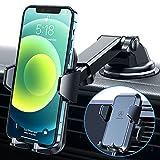 VANMASS Handyhalterung Auto 3 in 1 Lüftung & Saugnapf Stabil 100% Silikonschutz Handyhalter Fürs Auto Universale Kfz Handyhalterung 360° Drehbar Autohalterung Für Alle Handy iPhone Samsung Huawei LG